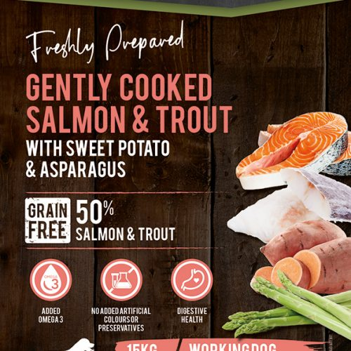 Grain free working salmon